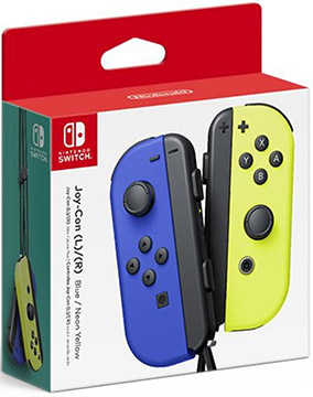 Nintendo Switch Joy-Con Controllers (Blue / Neon Yellow)