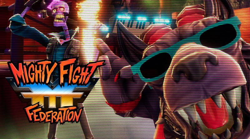 Mighty Fight Federation Nintendo Switch