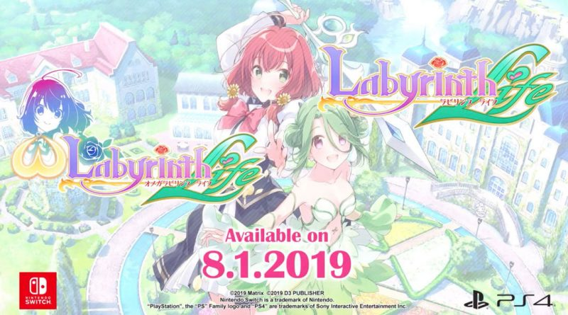 Omega Labyrinth Life and Labyrinth Life Switch PS4