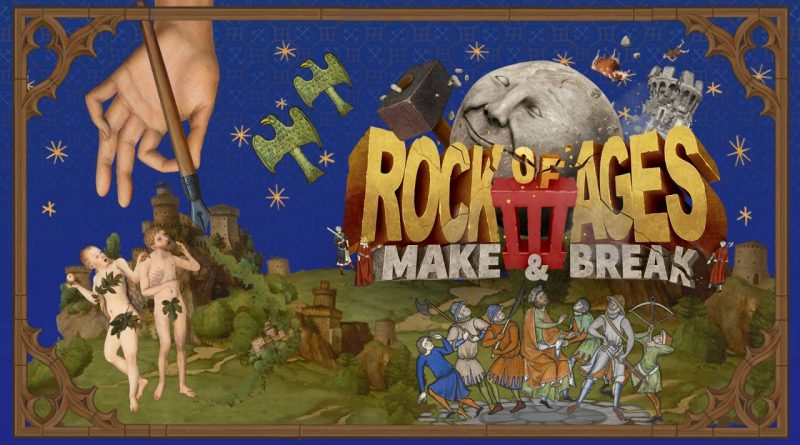 Rock Of Ages 3: Make & Break Nintendo Switch