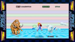 Sega Ages Space Harrier Nintendo Switch