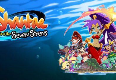 Shantae 5 Titled Shantae and the Seven Sirens, First Screenshots & Details