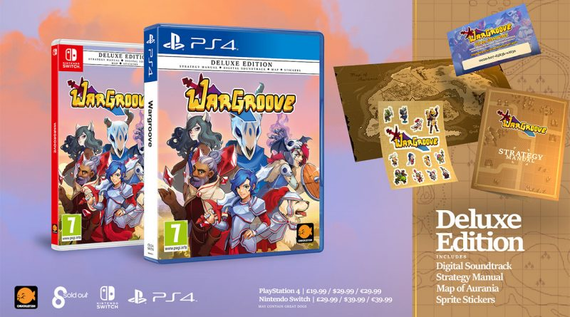 Wargroove Getting Physical Deluxe Edition This Fall
