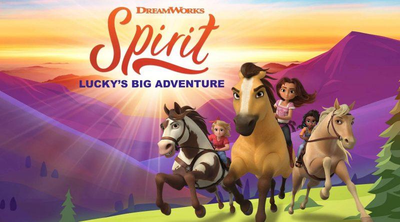 DreamWorks Spirit Lucky's Big Adventure Nintendo Switch
