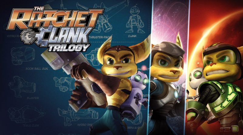 The Ratchet & Clank Trilogy (Collection) PS Vita