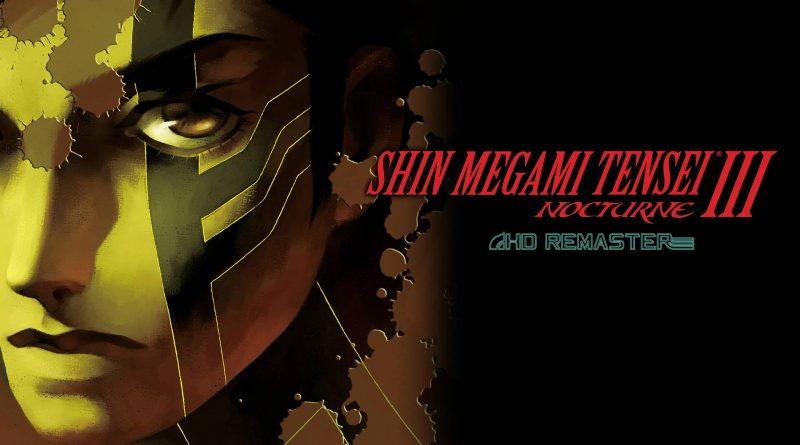 Shin Megami Tensei III Nocturne HD Remaster Nintendo Switch