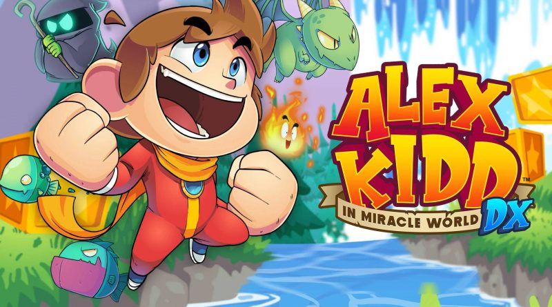 Alex Kidd in Miracle World DX Nintendo Switch
