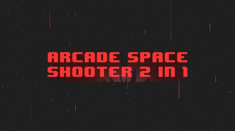 Arcade Space Shooter 2 in 1 Nintendo Switch