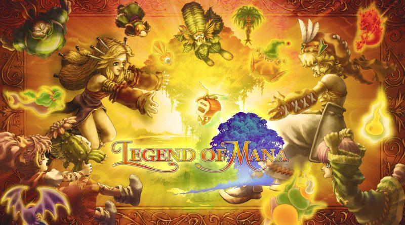 Legend of Mana Remastered Nintendo Switch