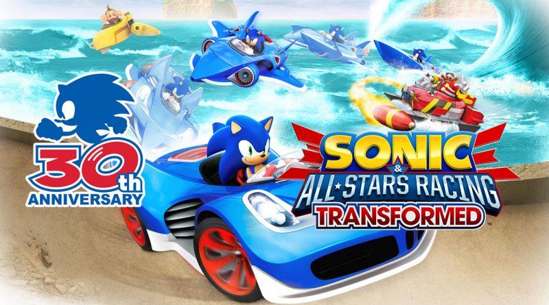 Sonic & All-Stars Racing Transformed Sonic 30th Anniversary PS Vita