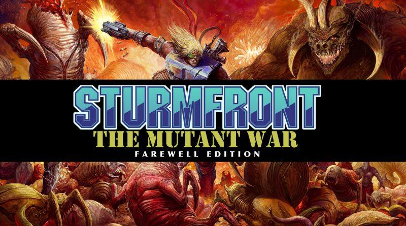 Sturmfront - The Mutant War: Farewell Edition PS Vita