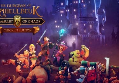 The Dungeon of Naheulbeuk: The Amulet of Chaos Nintendo Switch Gameplay