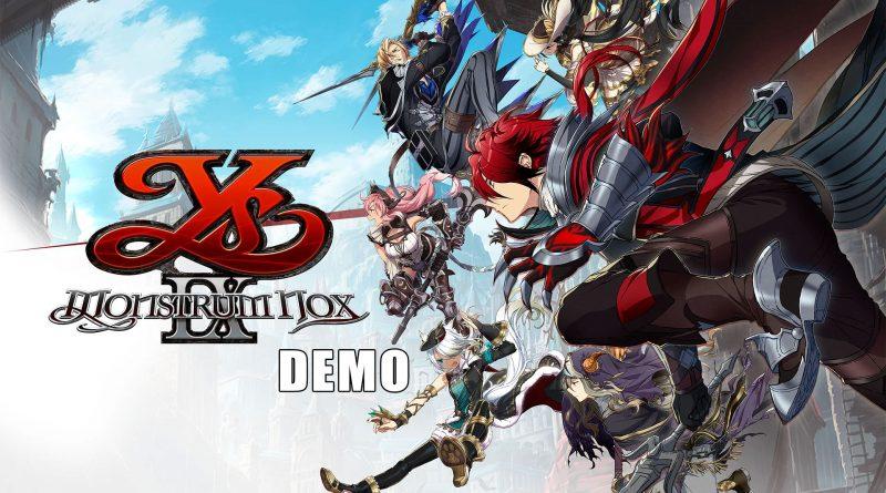 Ys IX: Monstrum Nox Nintendo Switch