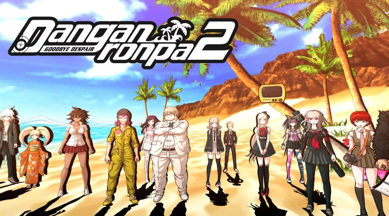 Danganronpa 2: Goodbye Despair PS Vita Gameplay