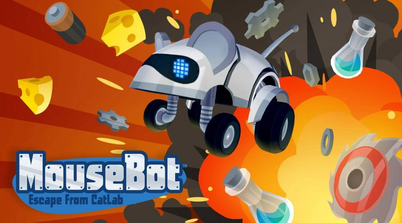 MouseBot: Escape from CatLab Nintendo Switch