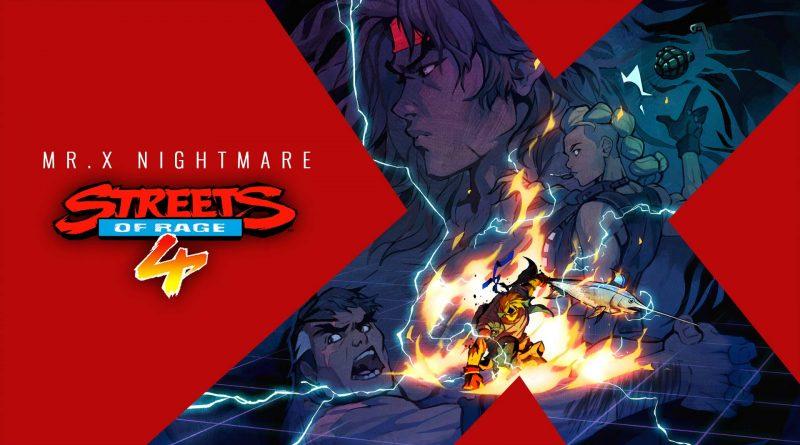 Streets of Rage 4 - Mr. X Nightmare DLC Nintendo Switch