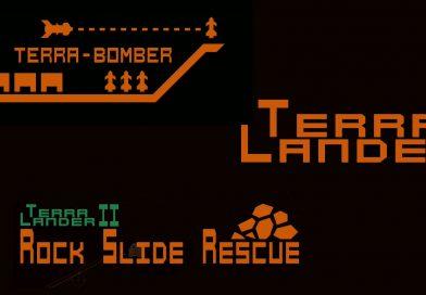 Terra Bomber, Terra Lander & Terra Lander II – Rockslide Rescue Nintendo Switch Gameplay