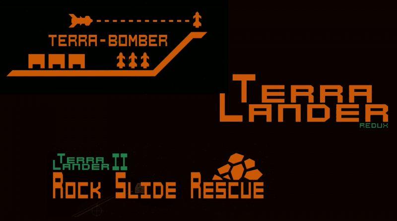 Terra Bomber, Terra Lander & Terra Lander II - Rockslide Rescue Nintendo Switch