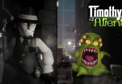 Timothy vs the Aliens Nintendo Switch Gameplay