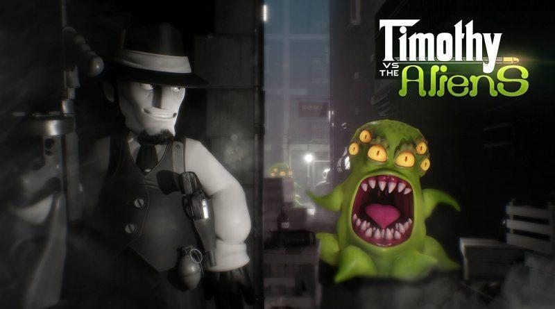 Timothy vs the Aliens Nintendo Switch