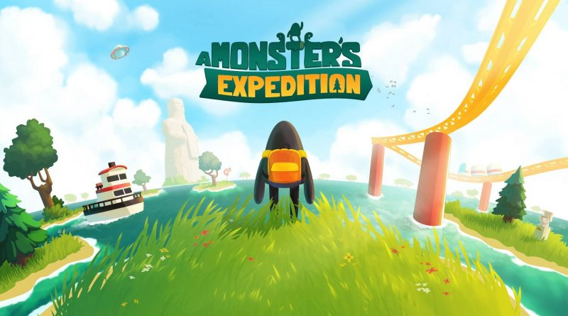 A Monster's Expedition Nintendo Switch