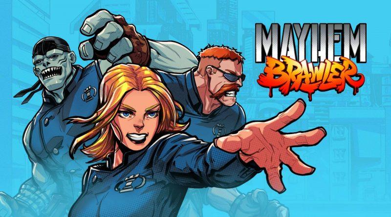 Mayhem Brawler Nintendo Switch