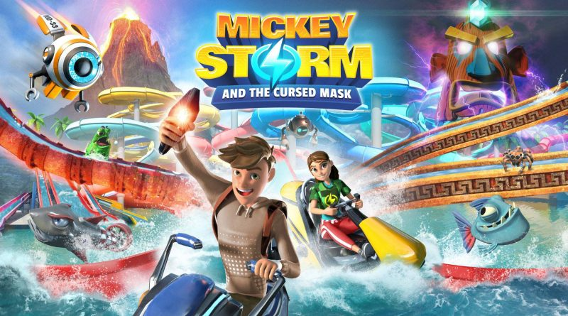 Mickey Storm and the Cursed Mask Nintendo Switch
