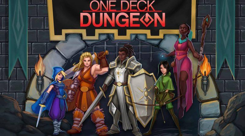 One Deck Dungeon Nintendo Switch