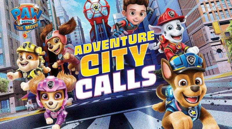 PAW Patrol The Movie: Adventure City Calls Nintendo Switch