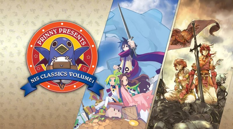 Prinny Presents NIS Classics Volume 1: Phantom Brave: The Hermuda Triangle Remastered / Soul Nomad & the World Eaters Nintendo Switch