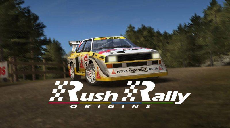 Rush Rally Origins Nintendo Switch