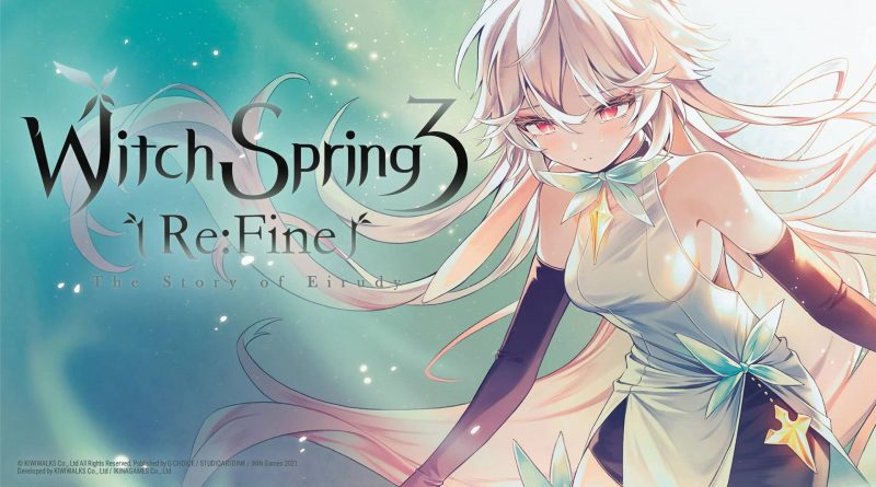 WitchSpring3 Re:Fine - The Story of Eirudy Nintendo Switch