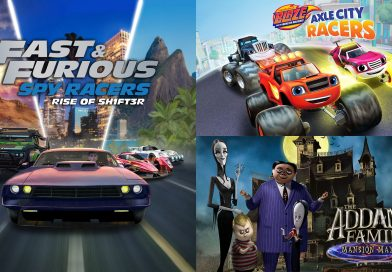 First Look at Fast & Furious: Spy Racers, Blaze & The Monster Machines and The Addams Family
