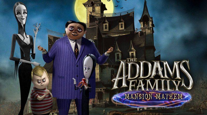 The Addams Family: Mansion Mayhem Nintendo Switch