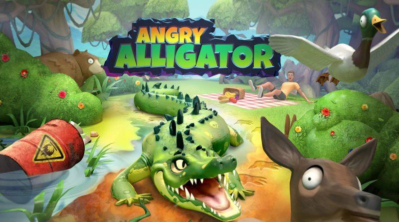 Angry Alligator Nintendo Switch