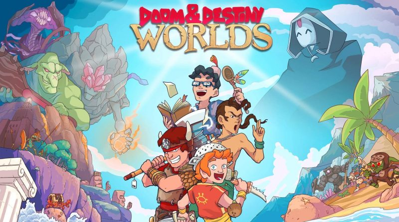 Doom & Destiny Worlds Nintendo Switch